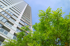 立川駅の高層マンションで働けます!